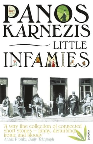 cover of Little Infamies, by Panos Karnezis