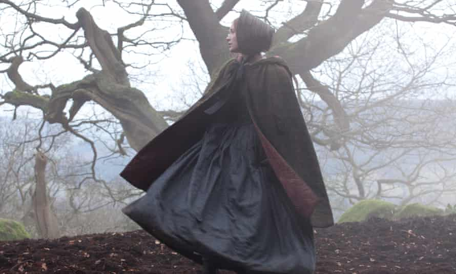Poor and plain … Mia Wasikowska in the 2011 film of Jane Eyre