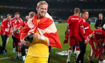 In Kasper Schmeichel Denmark have a word class goalkeeper