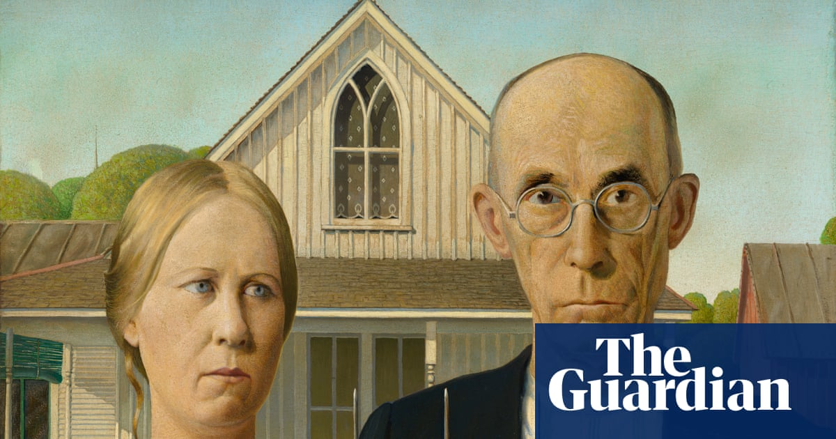 Grant Woods American Gothic Saved From Obscurity By War And Parody