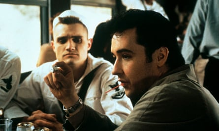 John Cusack (right) in The Grifters