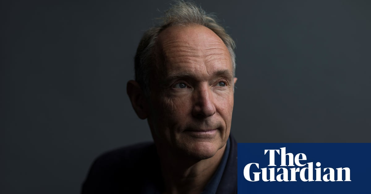 Tim Berners-Lee on 30 years of the web: 'If we dream a little, we can get the web we want'