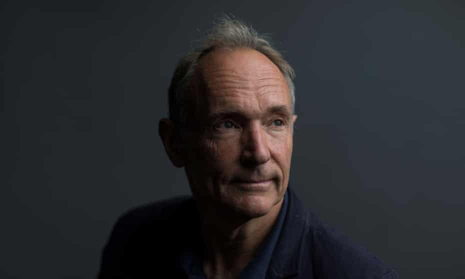 World Wide Web founder Tim Berners-Lee.