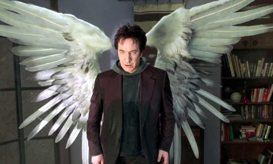 ' I fell in love with the soft-spoken gentle soul' … Alan Rickman in Dogma