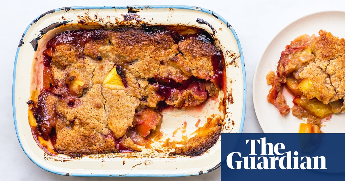 How to use up over-ripe or bruised peaches – recipe