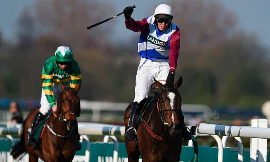 Cause Of Causes, green colours, chased home One For Arthur in last year's National. Both will miss the race next month.