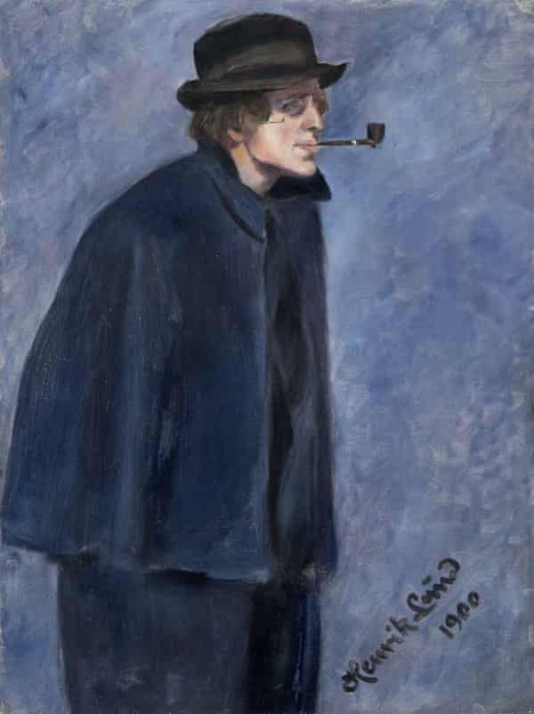 Portrait of Nikolai Astrup (1880-1928).