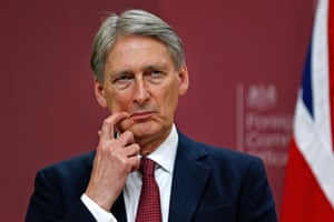 Philip Hammond criticised 'apologists' for Islamist terrorism who tried to blame Britain's intelligence agencies for radicalising Mohammed Emwazi