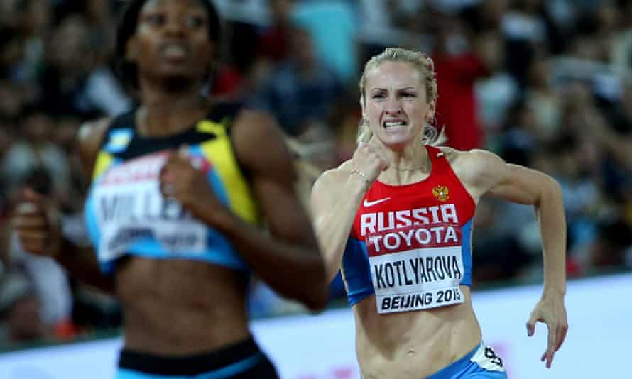 The 400m runner Nadezhda Kotlyarova, who was a semi-finalist at last year's world championships, is among eight Russians whose doping suspensions have been lifted.