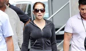 Jennifer Lopez in 2009 in her Juicy Couture tracksuit