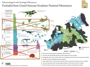 Cuts to Grand Staircase-Escalante National Monument would put Permian, Triassic and Cretaceous fossil sites at risk.