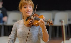 Nicola Benedetti is backing the campaign for the universal right to learn an instrument.