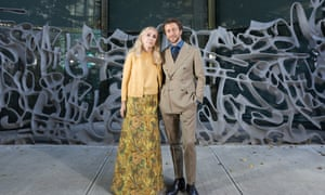 Franca Sozzani and her son Francesco Carrozzini in New York in October for the release of the documentary Chaos and Creation.