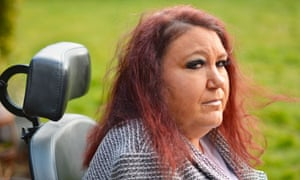 From 24-hour care to 'almost nothing': Lorraine Howard in Coventry.
