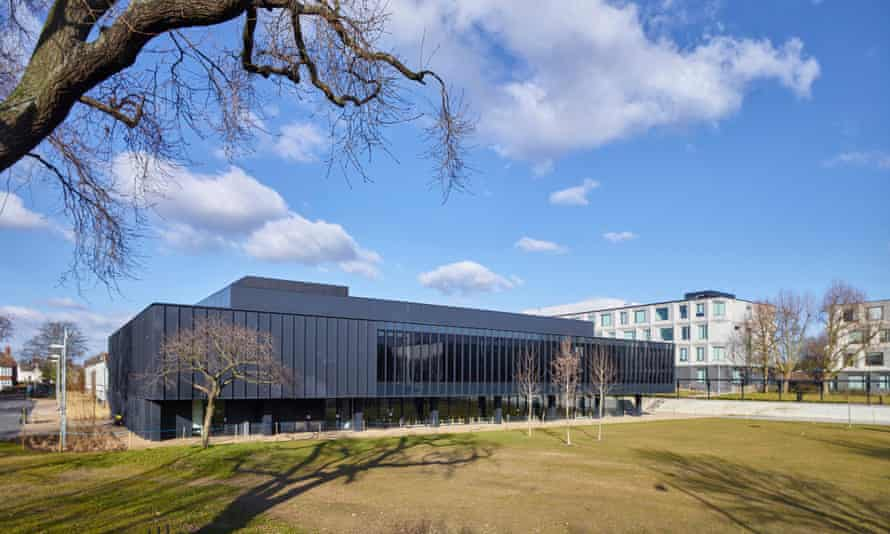 Burntwood school in Wandsworth, London, winner of this year's Stirling prize.