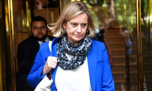 Amber Rudd said she believed the note came from Dominic Cummings.