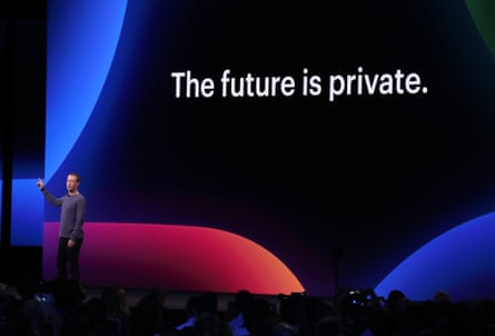 Mark Zuckerberg speaks during the F8 Facebook Developers conference in April.