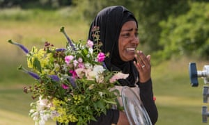 She could and she did: Nadiya's victory speech.