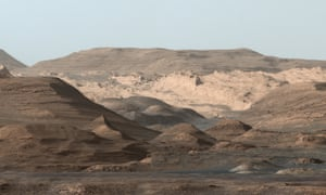 Mission possible … Aeolis Mons, aka Mount Sharp, photographed on Mars by Nasa's Curiosity rover in September 2015.