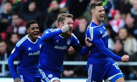 Anthony Pilkington strikes late to seal Cardiff comeback win at Bristol City