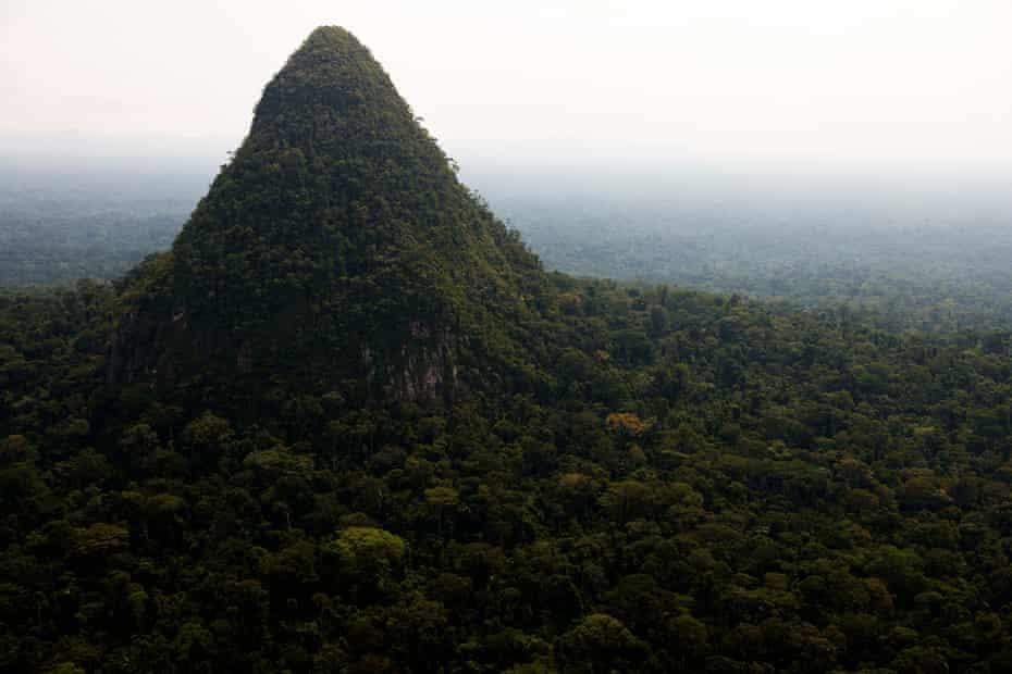 'El Cono' in the Sierra del Divisor National Park in the Peruvian Amazon.