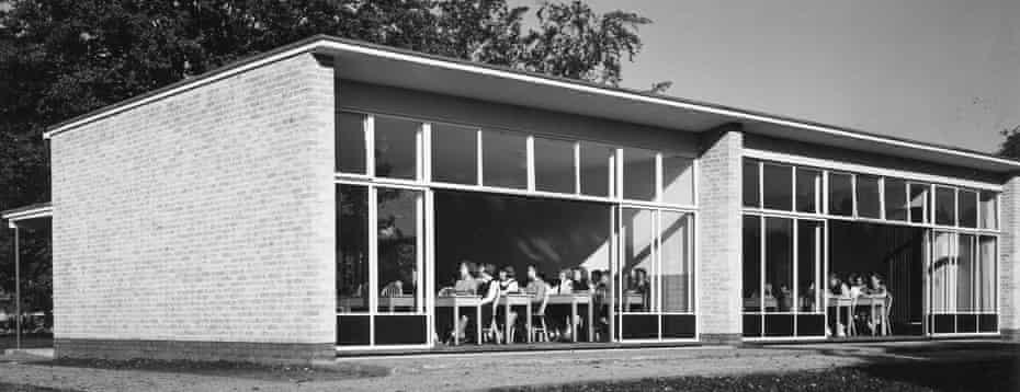 The inspiration for most postwar state schools … Village College, Impington.