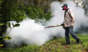 Miami Beach Zika spray