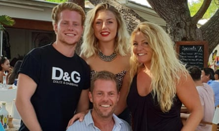 Phil Smith and his family