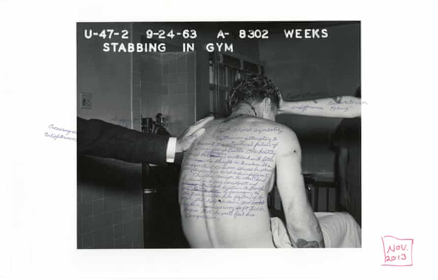 Stabbing in the Gym from Mapping Archive Images, 2013.