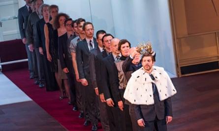 'English theatre has opened itself up to Europe' … Toneelgroep's Kings of War