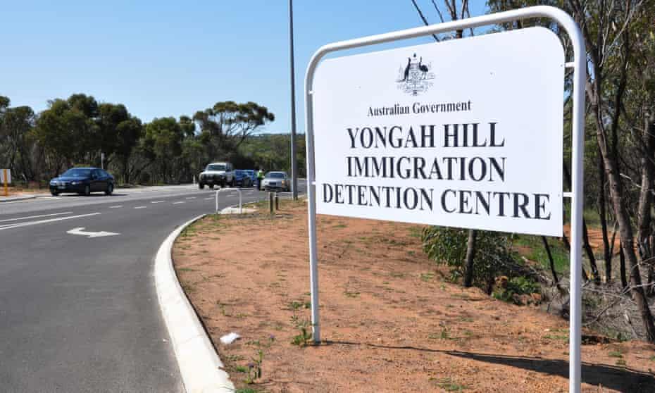 Yongah Hill sign