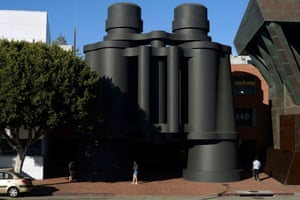 Google recently moved into the Binoculars Building, a collaboration between Frank Gehry and artist Claes Oldenburg.