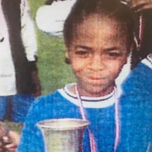 Young Raheem Sterling