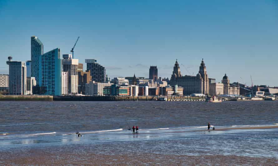Unesco listed Liverpool waterfront.