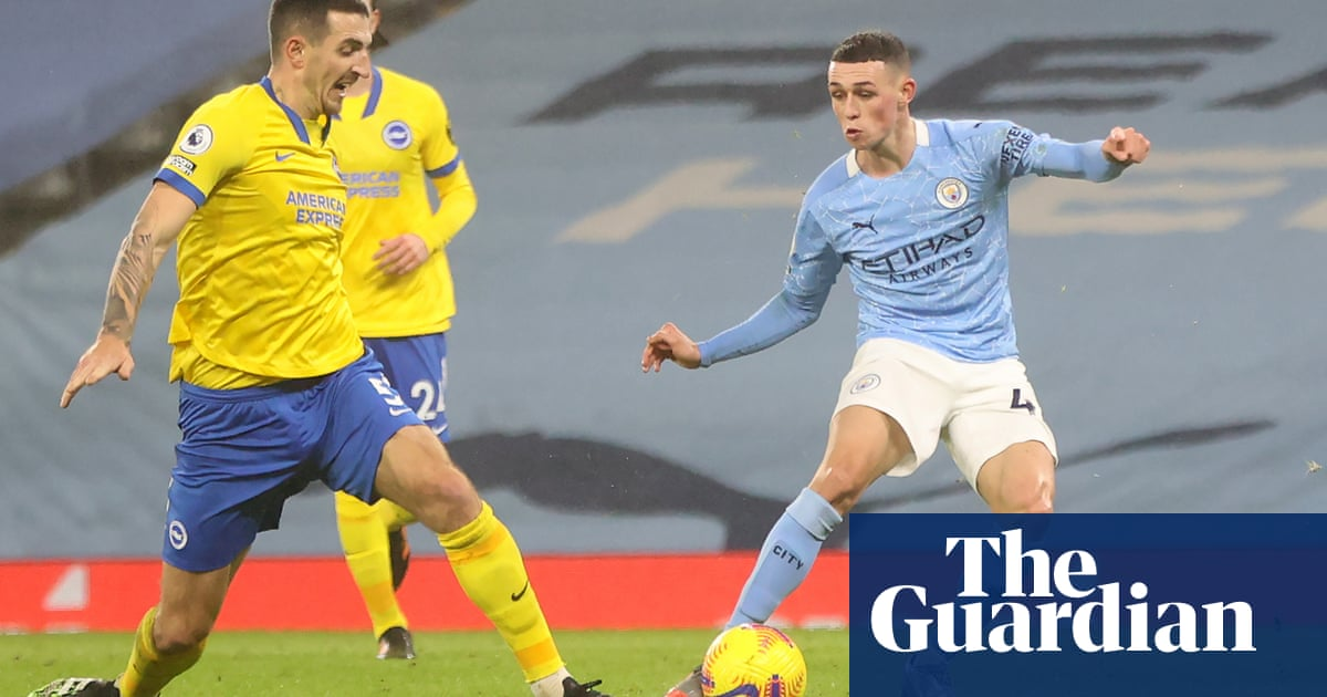 Phil Fodens moment of class sets up Manchester City victory over Brighton