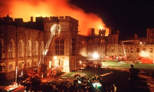 The Fire at Windsor Castle, 1992.