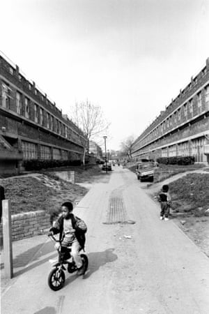 Angell Estate, Brixton, south London. 31 Mar 1991