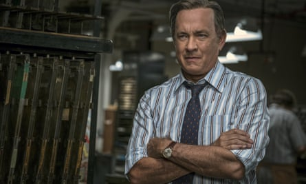 Tom Hanks portrays Ben Bradlee in The Post.