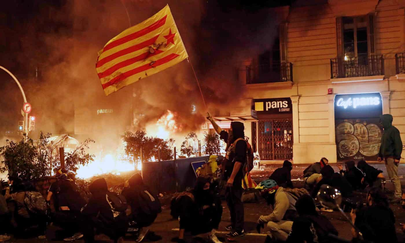 Amid turmoil in Barcelona, ex-Catalan president says independence push went 'too far, too fast'