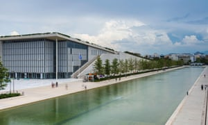 Stavros Niarchos foundation cultural center, park and Greek National Opera, Athens, Greece