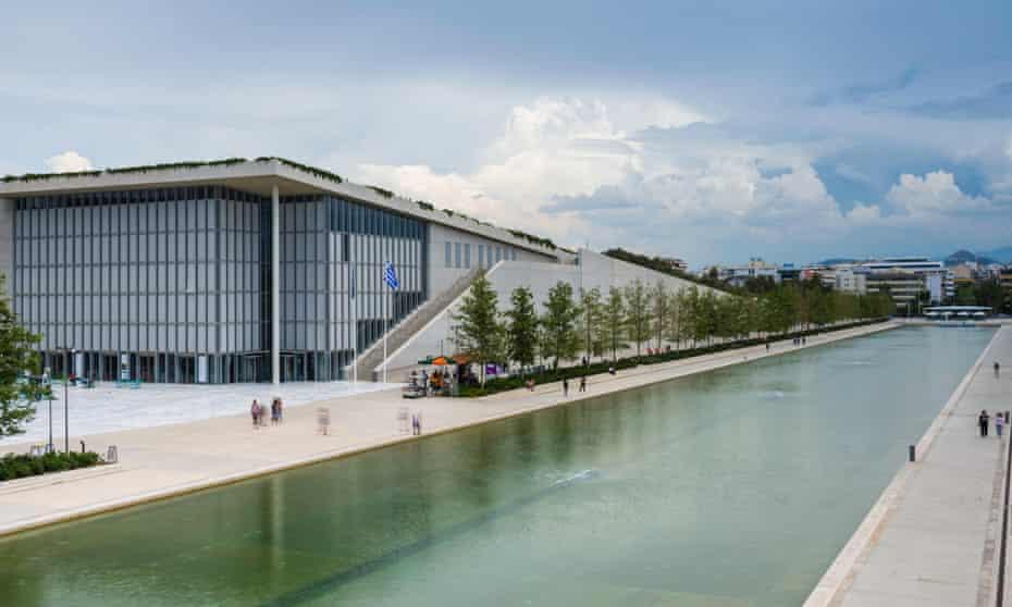 Stavros Niarchos foundation cultural center, park and Greek National Opera, Athens, Greece
