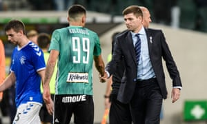 Steven Gerrard thought Rangers could have done the match against Legia Warsaw.