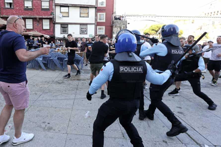 Police in riot gear stormed a rally on Friday, removing hundreds of protesters by truck.