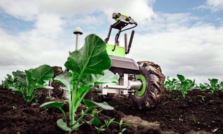 'We'll have space bots with lasers, killing plants': the rise of the robot farmer