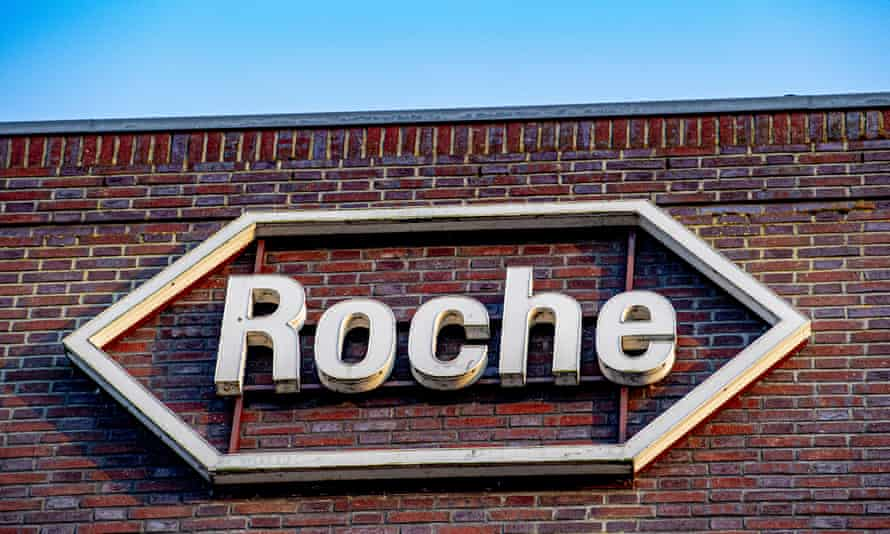 Roche sign on a building