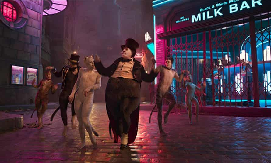 James Corden as Bustopher Jones in Universal's adaptation of the stage musical Cats