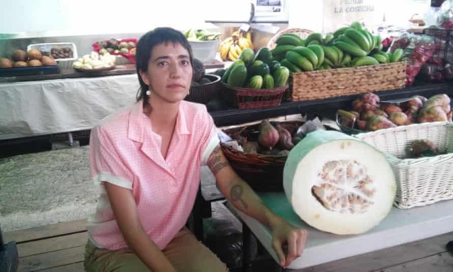 Tara Rodríguez runs an organic cafe-restaurant and produce market in old San Juan.