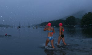 Summer Solstice Starlight Dip, Lake District. from sleekerswim.co.uk