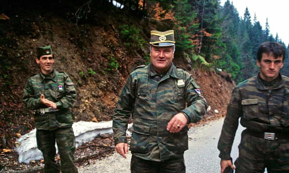 Ratko Mladić in Yugoslavia in the 1990s