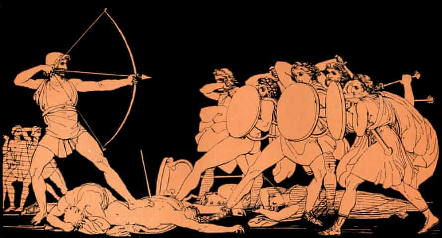 Homer's Odyssey is a constant presence.